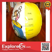 Manufacture promotional beach ball