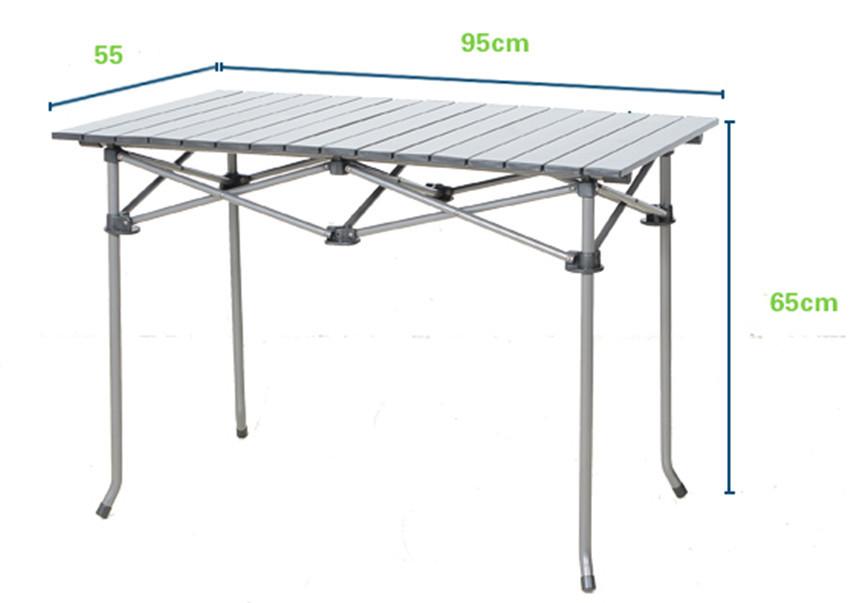 Lightweight composite aluminum folding camping picnic - Table composite aluminium ...