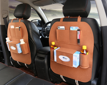 felt hanging storage bag for car