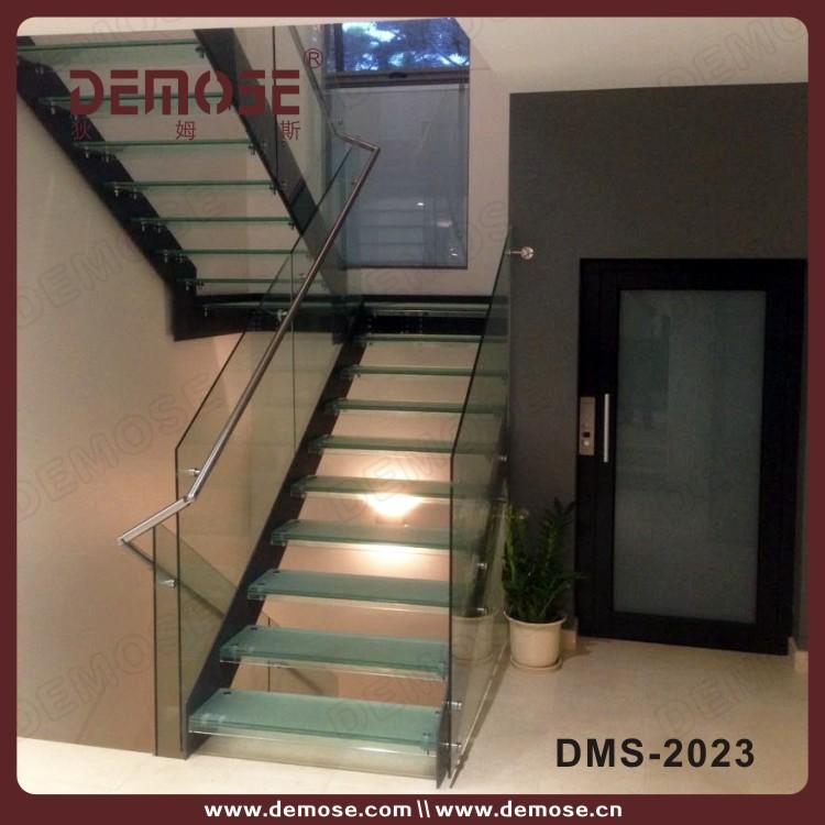 interior de cristal escaleras precio para casas pequeas