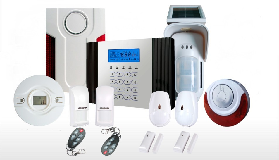 New Design operated by android and iOS GSM APP Built-in Antenna And Touch Screen Wireless Alarm System