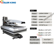 40X50 Semi-Auto Printing t shirt Transfer Image Manual Heat Press Machine