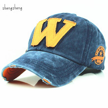 2015 hot cotton embroidery letter W baseball cap snapback caps sports hat fitted bone  casquette hat for men custom hats