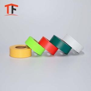 Cost-effective custom printed biodegrad vinyl film checkered flagging tape