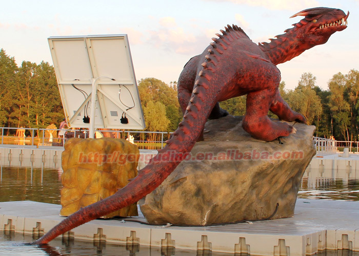 Animated Animatronic Dragon Garden Dragon Statue Buy Animated