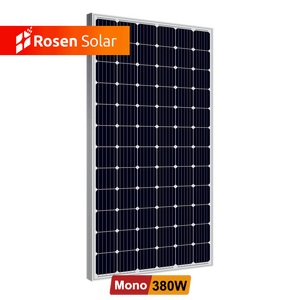 Cheap Solar Panels China 5BB 380Wp 72cells Painel Solar Fotovoltaico in Stock