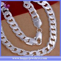 New exclusive design high quality 925 silver necklace 925 italy silver necklace CN202