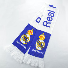 wholesale cheap euro knitted acrylic factory soccer fan bar scarf