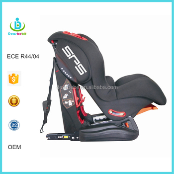 ECE R44 04 Ningbo Dearbebe 3 Reclining Backrest Group 1 2 Isofix Top Tether