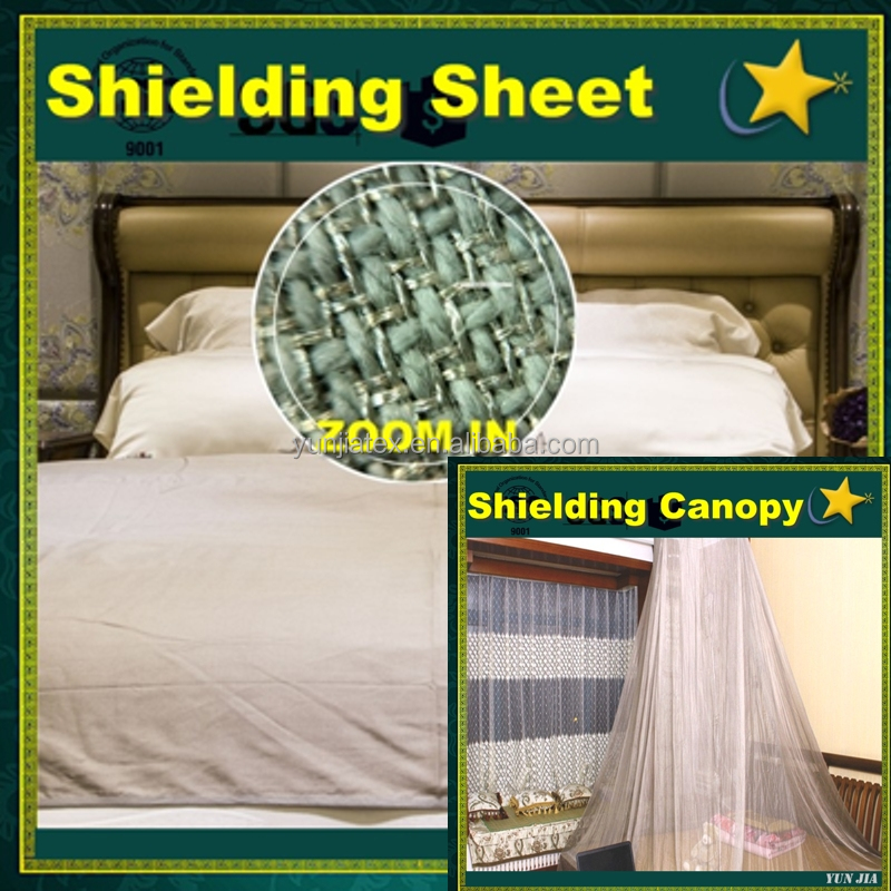 EMF Bed Faraday Canopy and Sheets