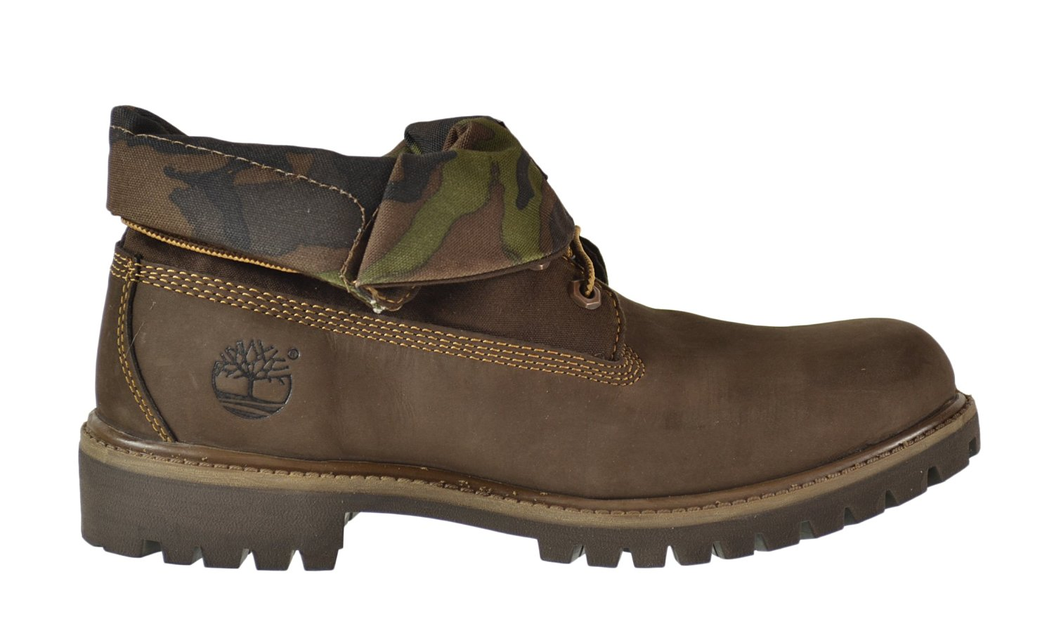 Get Quotations · Timberland Roll Top Men s Boots Brown Camo tb06834a 5a98ad61f2d1