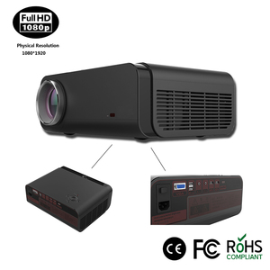 Shenzhen low cost multimedia ultra short throw projector for home cinema