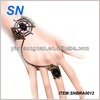 fashion designed new jewelry,bracelet attached ring