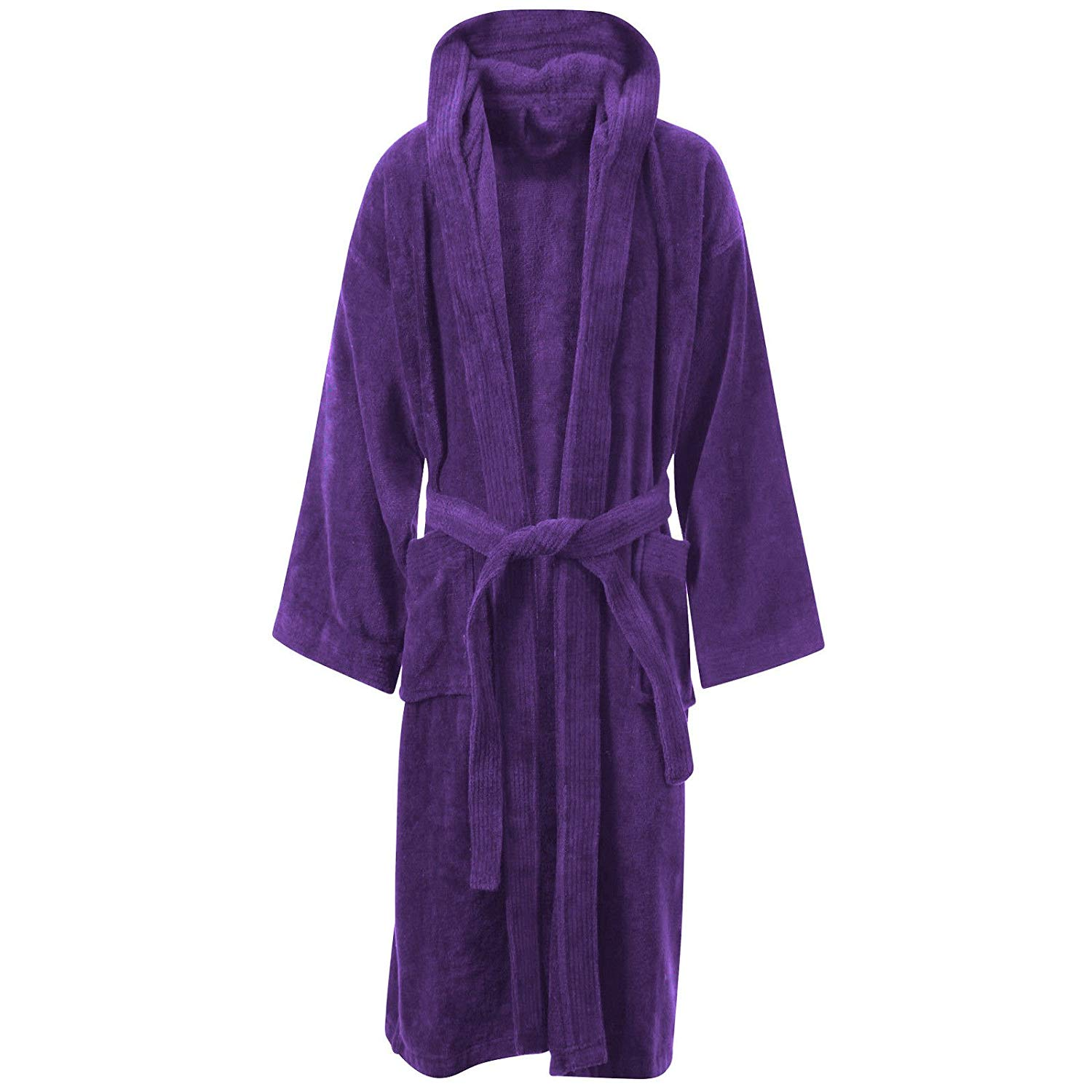 Get Quotations · LUXURY EGYPTIAN COTTON TOWELING BATH ROBE DRESSING GOWN  VELOUR TOWEL BATHROBES 734f55423