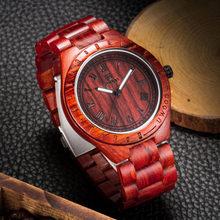 Мужские наручные часы UWOOD, аналоговые кварцевые наручные часы ручной работы с деревянным лицевым покрытием, в античном стиле, 2020(Китай)