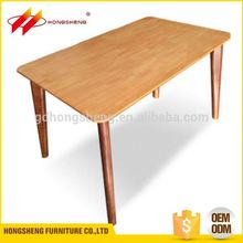 china market solid wooden table formal dining room furniture