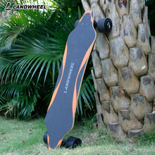 Cheap dual hub motor custom RC electric skateboard with wireless remote