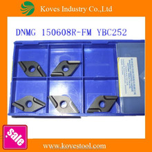 metal working DNMG 150608R-FM YBC252 ZCC.CT face mill carbide inserts
