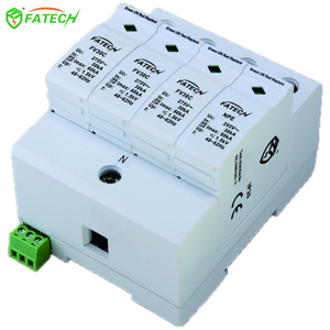products china 4 poles peak suppressor spd surge protector ac power 440v