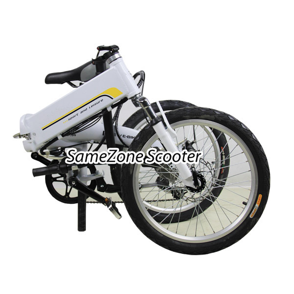 Electric mobiky folding bike 20 inch wheel