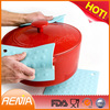 RENJIA hot pad for pot 100% silicone pot holders 100% food grade silicone sheets
