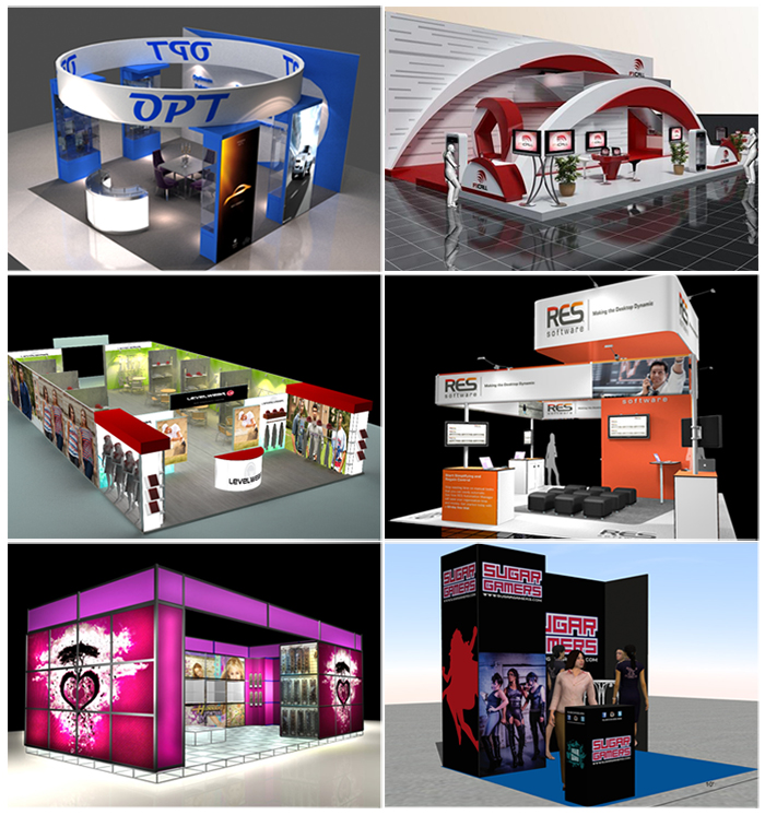 Exhibition Stand Circle : Portable design d special circle exhibition trade show booth