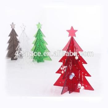 Burotische Moderne Weihnachtsbaume Laser Cut Acryl Tischplatte