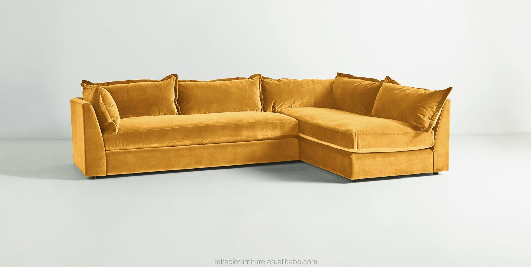 L Shaped Lleft And Right Orientation Velvet Sectional Sofa Buy Classic Sofa Modern Velvet Sofa Velvet Sofa Classic Product On Alibaba Com