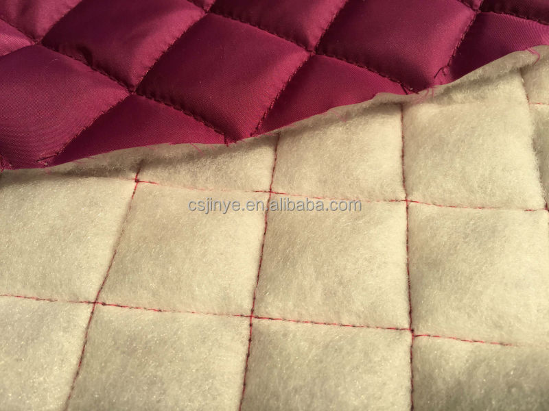 Quilted fabric lining waterproof,quilted nylon fabric for garment ... : nylon quilted fabric - Adamdwight.com