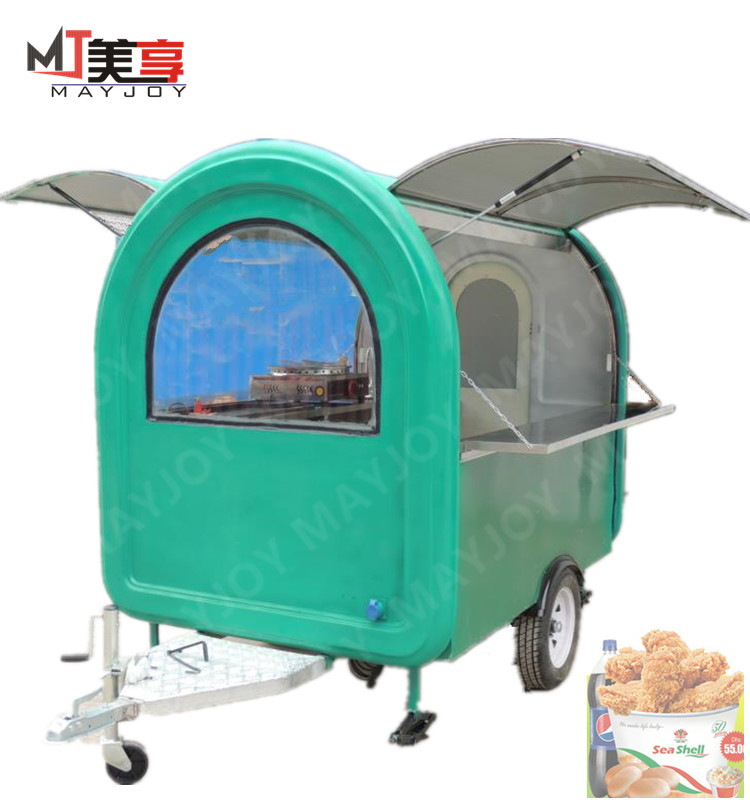 Professional new design airstream mobile food trucks with best price