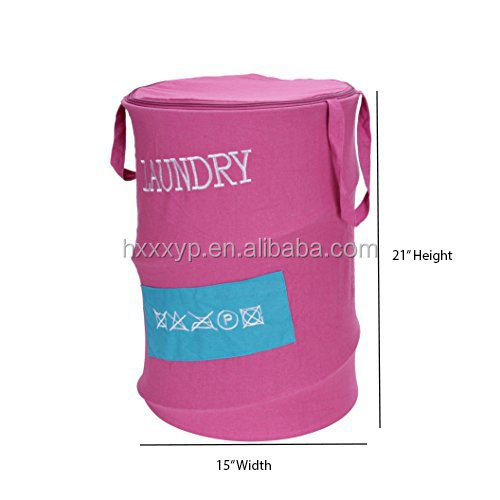 Easy to open , More colors for pop up laundry hamper