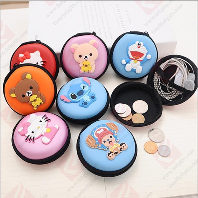custom rubber coin purse