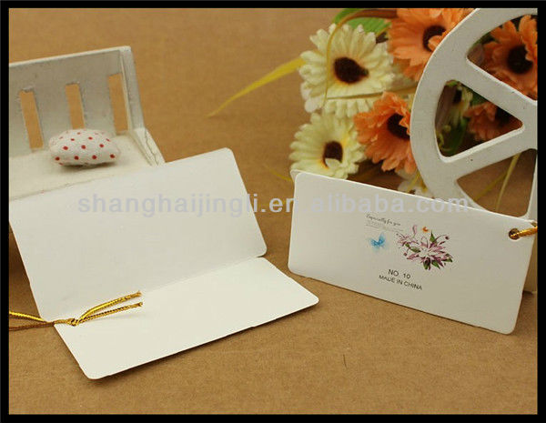 Blank art paper gift packing invitation cards made in China