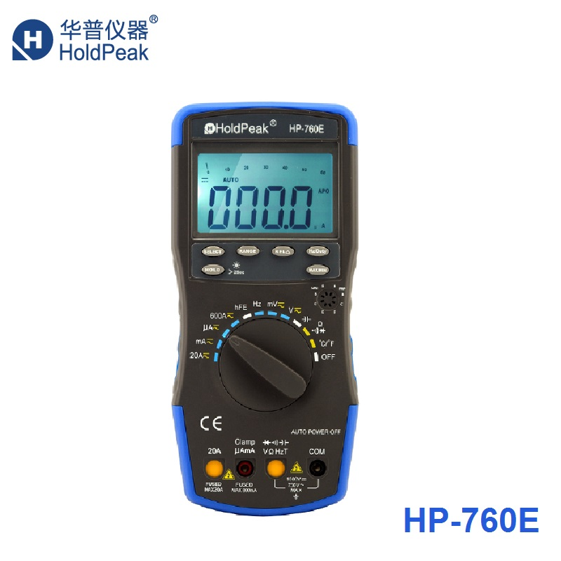 HP-760E Electronics digital multimeter capacitance meter