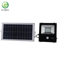 Construction site outdoor waterproof ip65 30w 50w 100w 200w 300w 400w solar led flood light