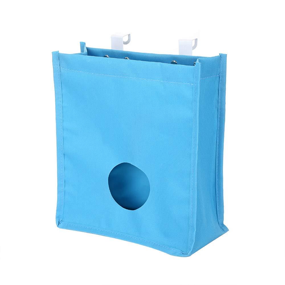 Creaon Storage Hanging Bag Durable Waterproof Wall Door Foldable Multifunctional Large Capacity Storage Bag for Bedroom and Bathroom(Beige)