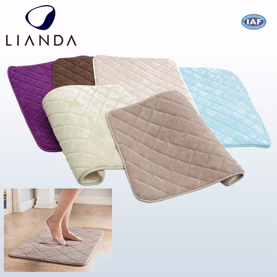 Memory Foam Rug,Bathroom Microfiber Bamboo Bath Door Flooring Mat Wholesale