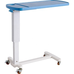SKH046-2 China Cheap Simple Economic Hospital Patient Bedside Over Bed Table