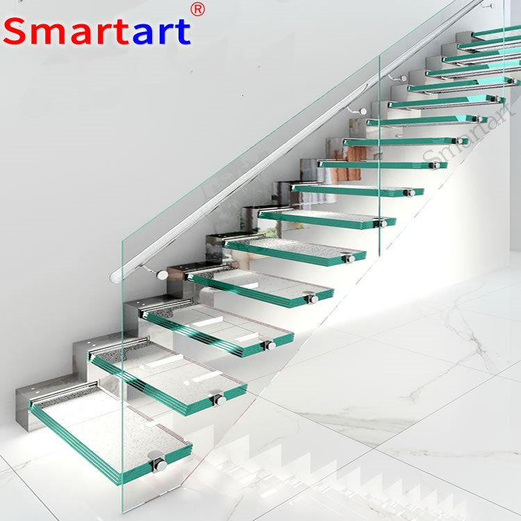 Alibaba China Glass Railing Floating Stairs - Buy Staircase  Construction,Frameless Glass Floating Staircase,Glass Railing Floating  Stairs Product on