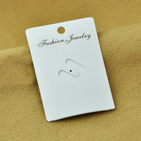 Wholesale Cheap Price White PVC Brooch Jewelry Display Card P010312