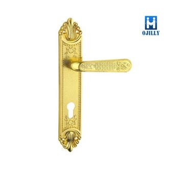 Door Lock Handles With Rosette,for Interior Door