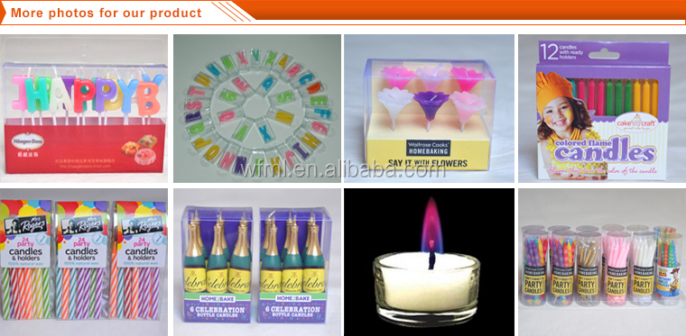 Good Quality Letter Birthday Candles For Sale