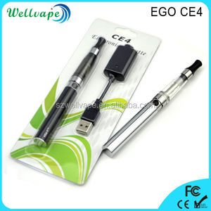 Factory cheap price good quality 650/900/1100mAh battery ego c4 electronic cigarette