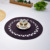 Round Placemat 42*28cm Four Color Choice shipping by Fedex