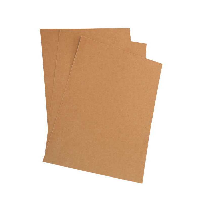Low price mixed pulp brown kraft paper sheets