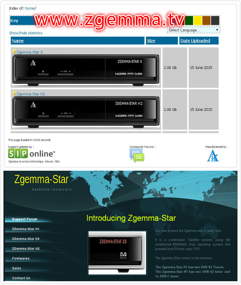 Iptv Youtube Hd Zgemma-star H2 Tiger Satellite Receiver Combo Dvb S2 Dvb T2  Satellite Receiver No Dish - Buy Iptv,Youtube,Satellite Receiver No Dish