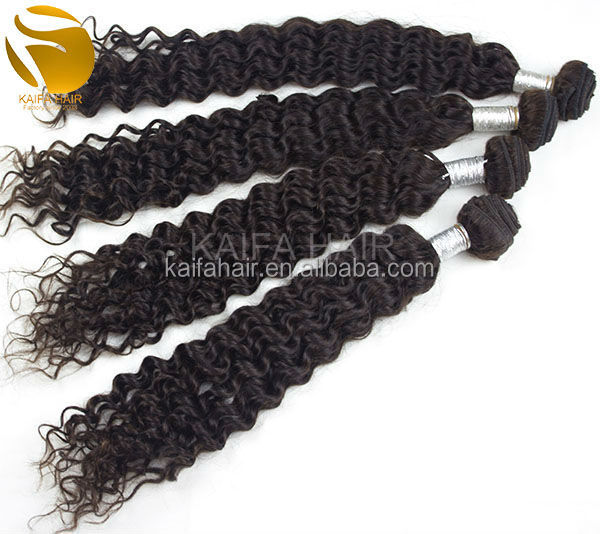 Good quality hair weave, natural color can be dye factory price peruvian hair weave