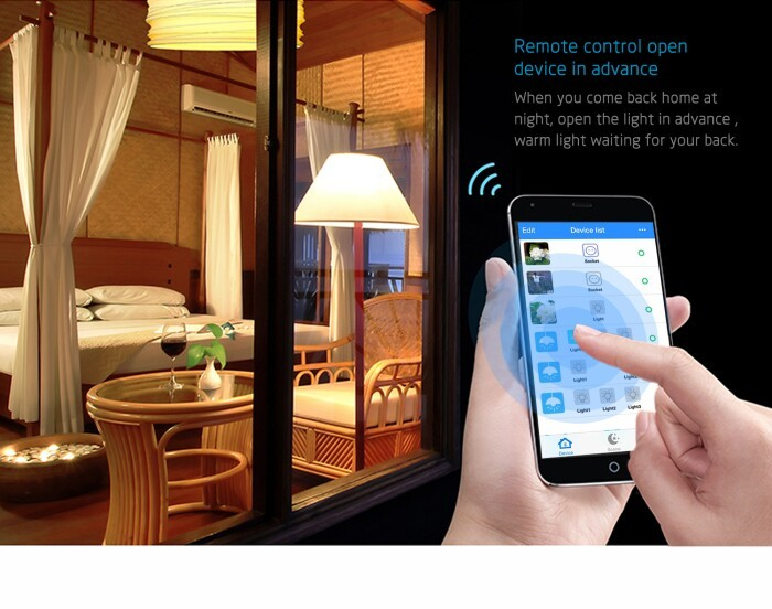 Smart Home Automation Light Wifi 3 Gang Dip Switch With High ...