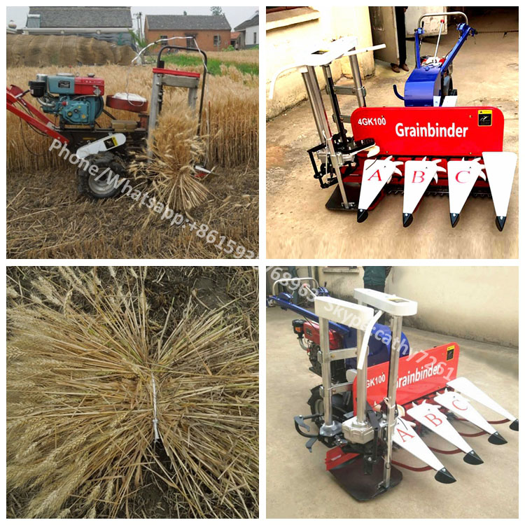 Automatic Reaper Binder/paddy Rice Harvesting And Bundling
