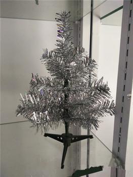 Customizable Mini Plastic Christmas Tree Table Top Pvc